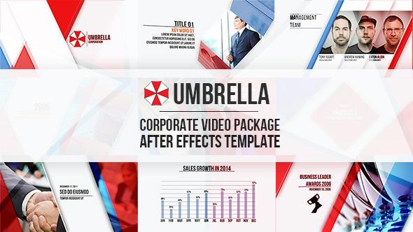 AE模板:现代商务企业公司宣传片头 产品服务介绍 时间表 业务结构 电视栏目包装模板 免费下载