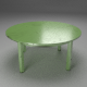 Shabby Chic Table green
