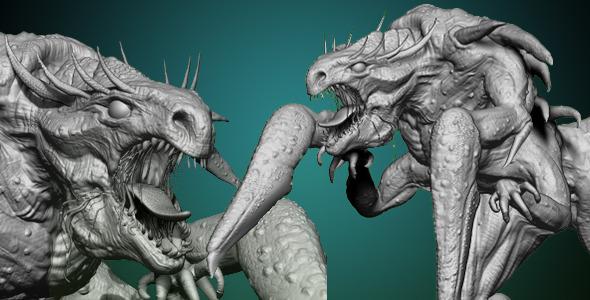 CreatureX - 3DOcean Item for Sale