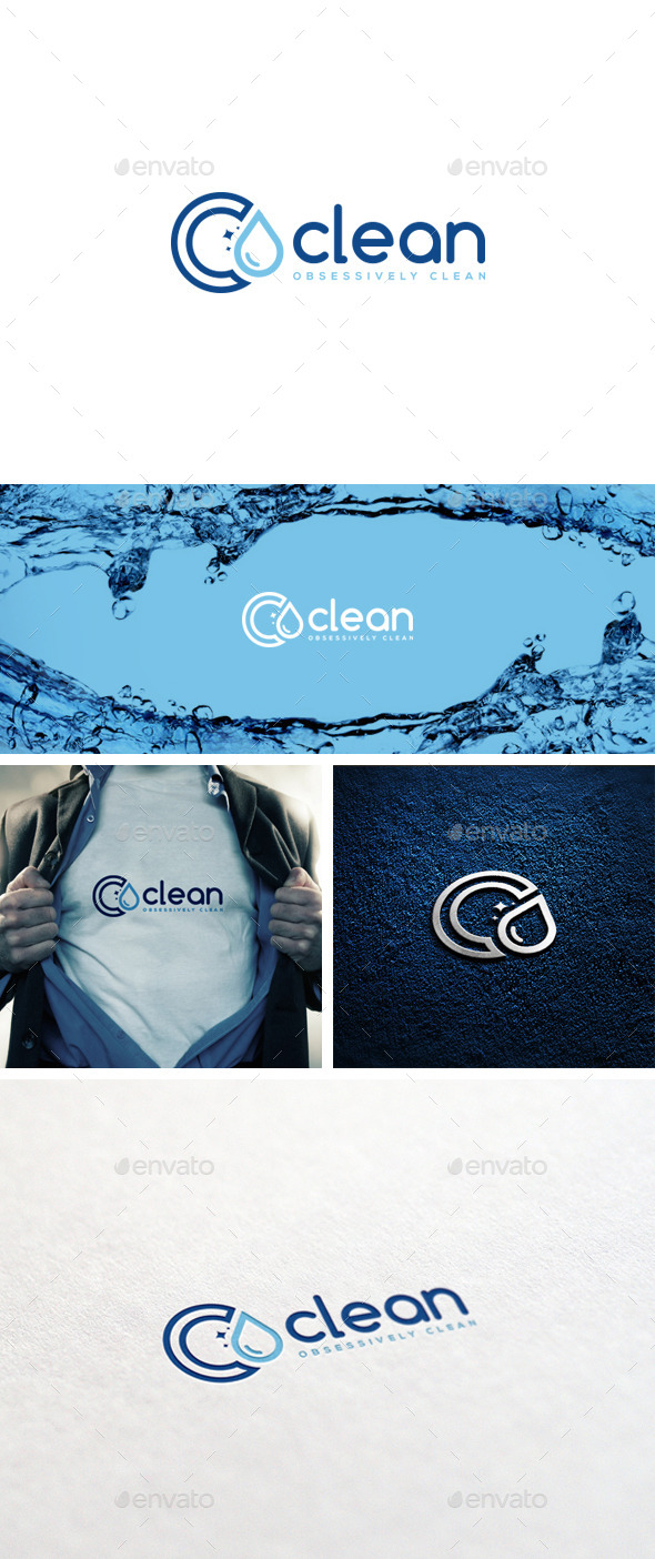 GraphicRiver Clean Logo Template 11879547