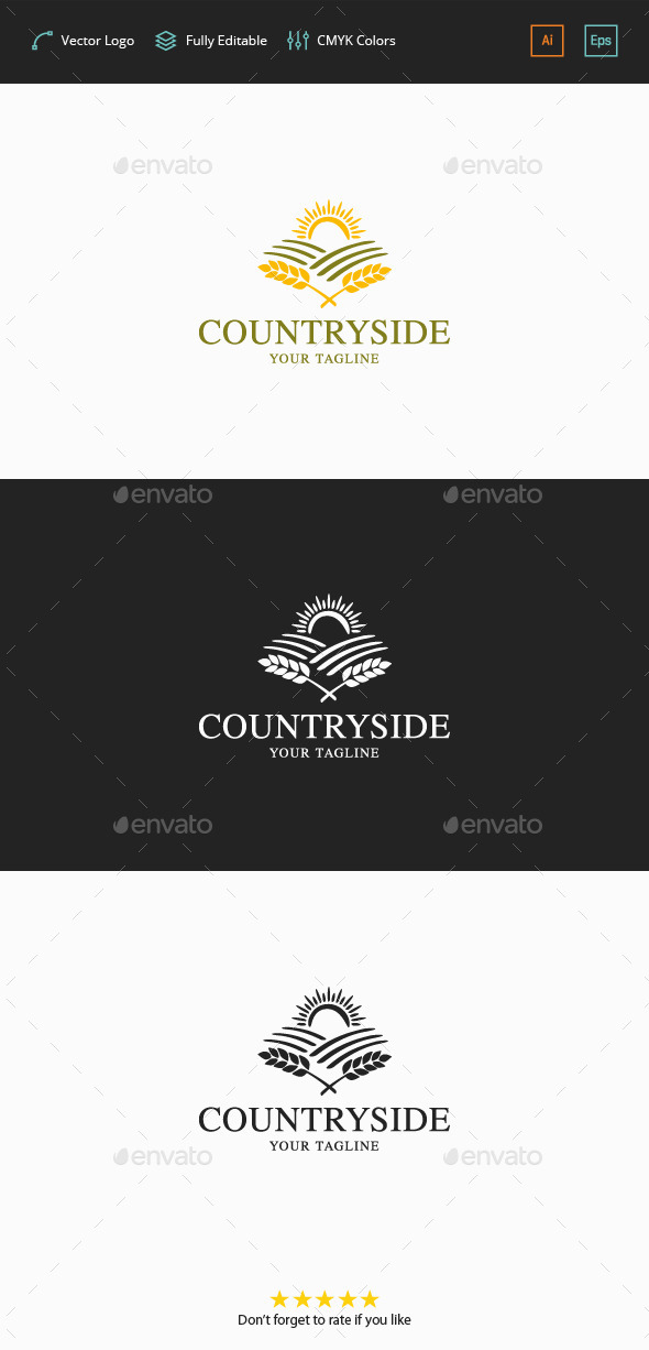 GraphicRiver Countryside Logo 11879553