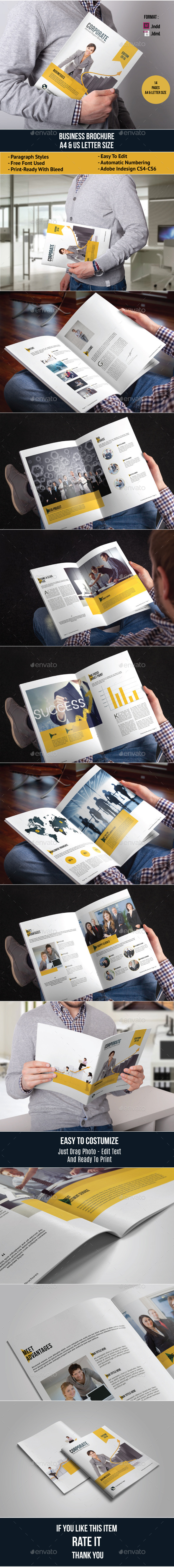 GraphicRiver Business Brochure Template 11880527