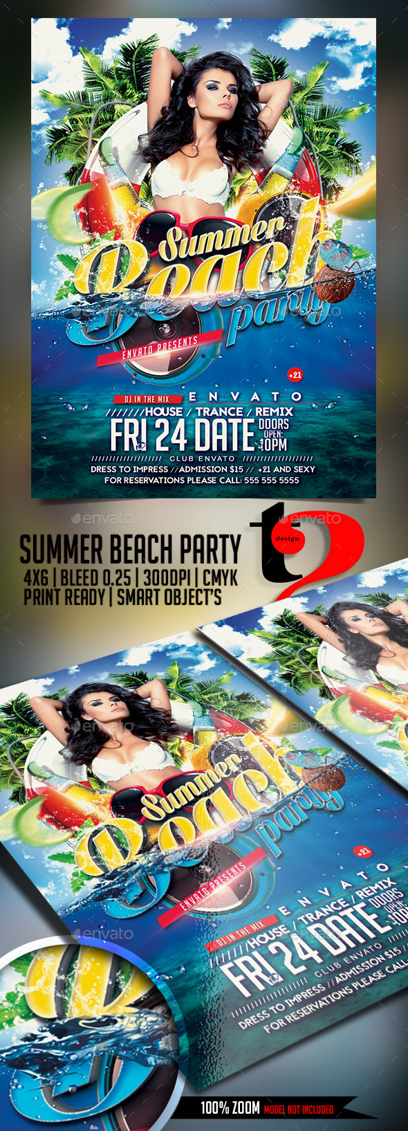 GraphicRiver Summer Beach Party 11881081