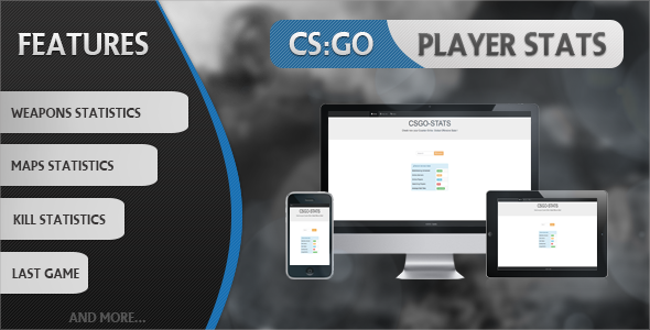 CodeCanyon CS GO Player Stats 11832040