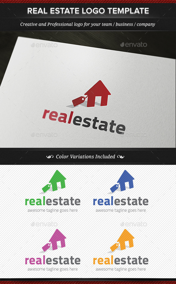 GraphicRiver Real Estate Logo Template 11881265