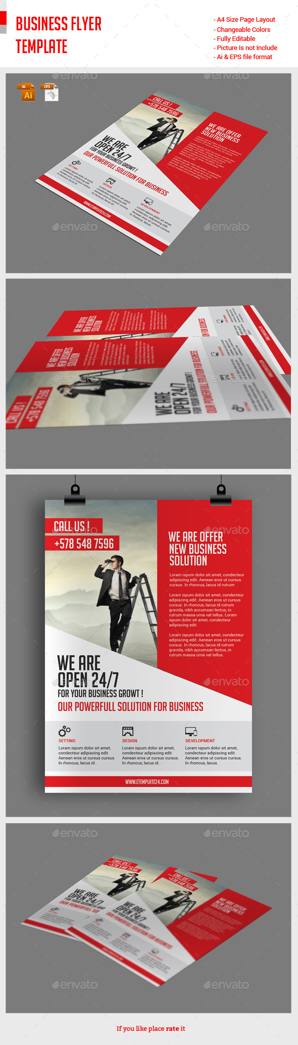 GraphicRiver Business Flyer Template 11881459