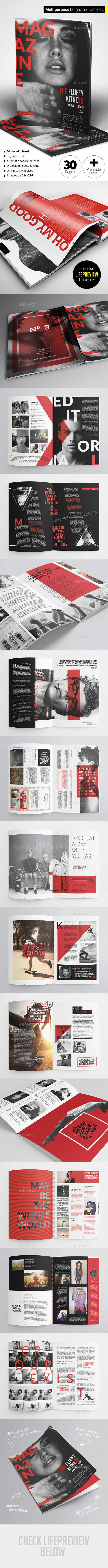 GraphicRiver 30 Pages Multipurpose Magazine 11881489