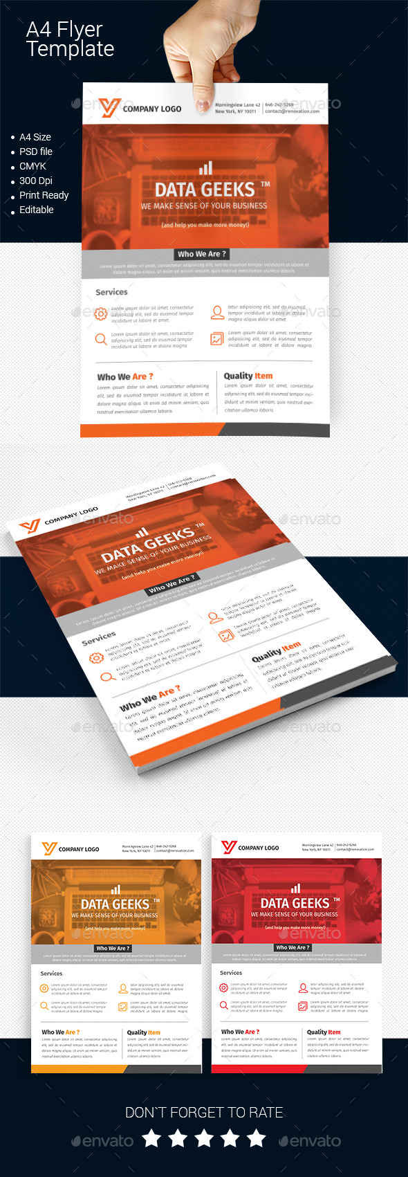 GraphicRiver A4 Business Flyer Template 06 11881495