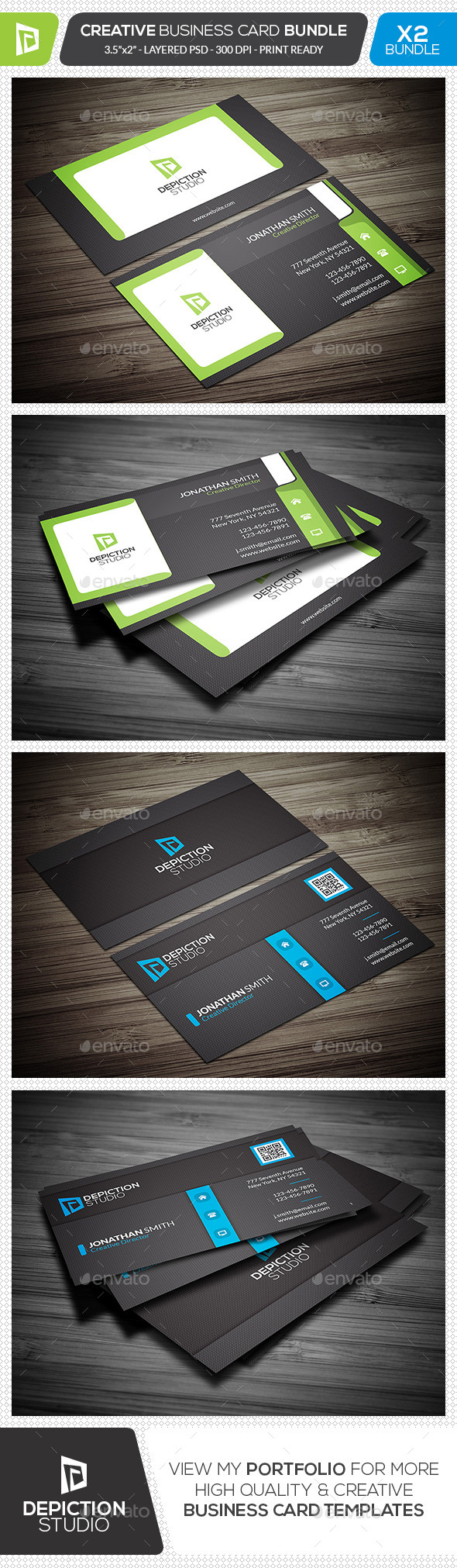 GraphicRiver Creative Business Card Bundle 11881710