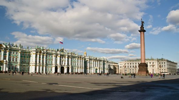 Hermitage And Palace Square