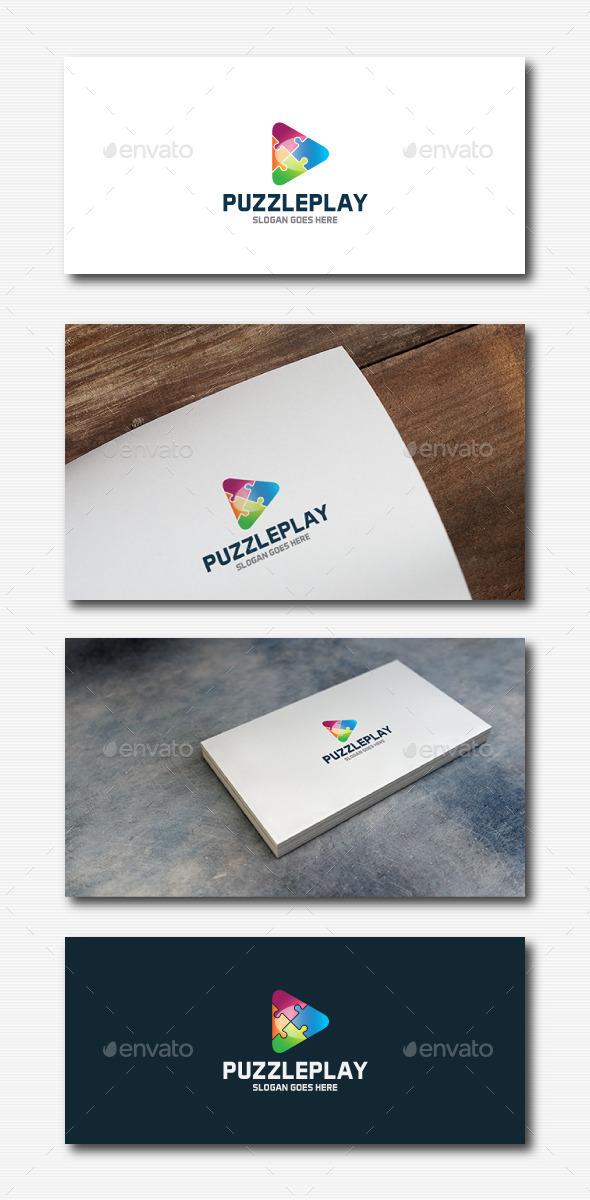 GraphicRiver Puzzle Play Logo 11881772