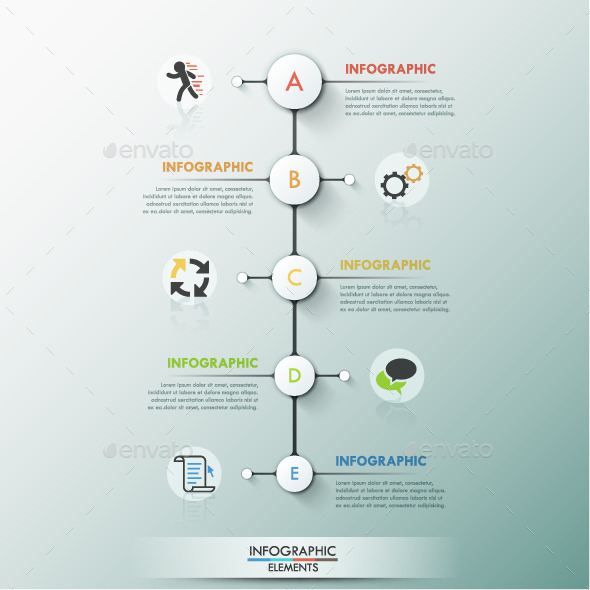 GraphicRiver Modern Infographic Process Template 11881935