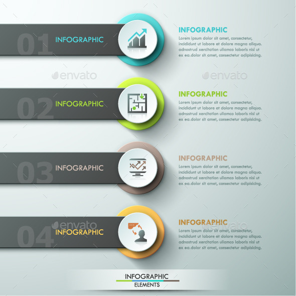 GraphicRiver Modern Infographic Paper Template 11881948