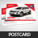 Automobil Company Postcard Psd Template - GraphicRiver Item for Sale
