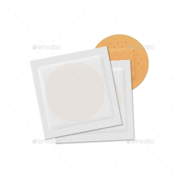 GraphicRiver Vector Bandage Plaster Aid Band Medical Adhesive 11883262