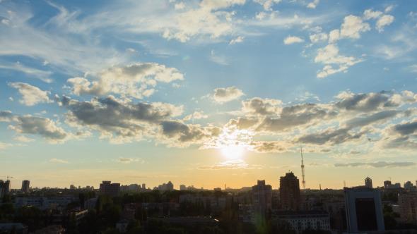 City Sunset 6