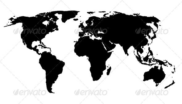 PhotoDune world map 1201619
