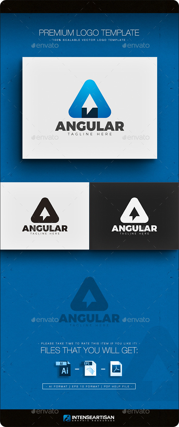 GraphicRiver Angular Letter A Logo 11883347