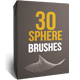 30 Abstract Sphere Brushes