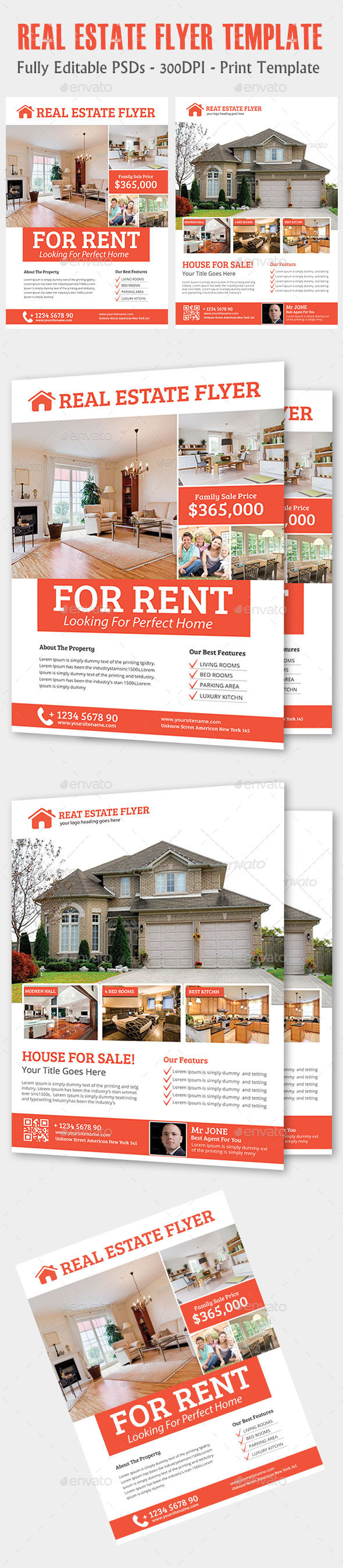 GraphicRiver Real Estate Flyer 11883881