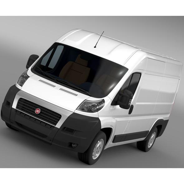 3DOcean Fiat Ducato Van L2H2 2006-2014 11884155