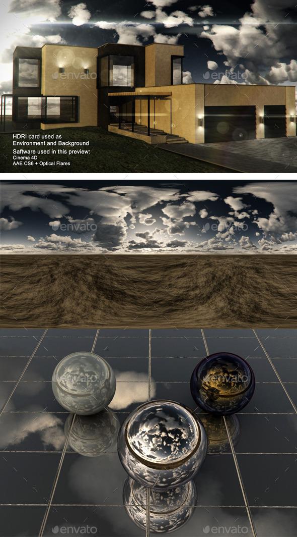 3DOcean Dusk Desert 2 11884518