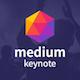 Medium - Creative Keynote Template - GraphicRiver Item for Sale