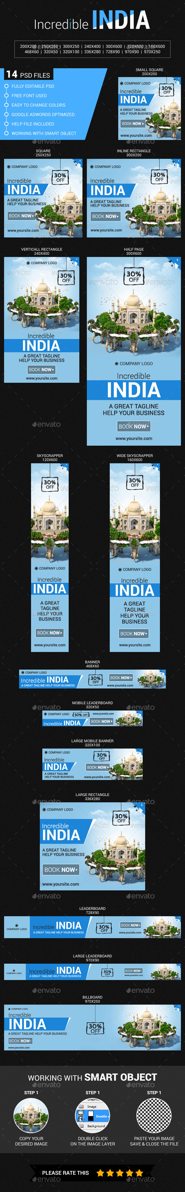 GraphicRiver Travel in India 11884681