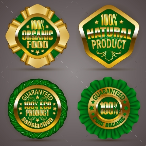 GraphicRiver Golden Badges 11884919