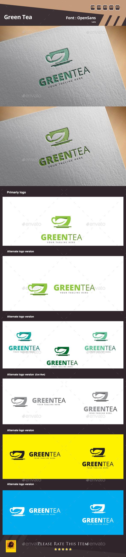 GraphicRiver Green Tea Logo Template 11881273