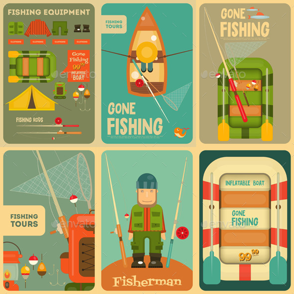 GraphicRiver Fishing 11885237