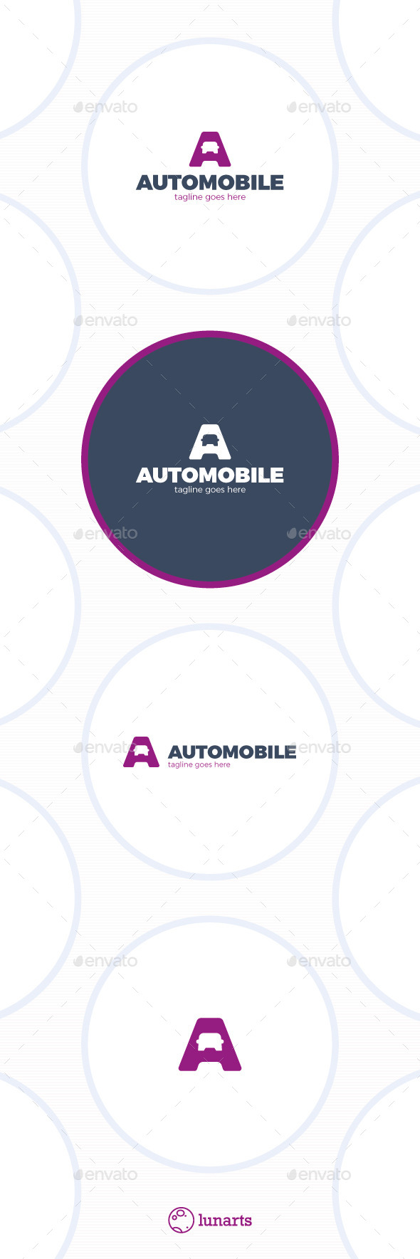 GraphicRiver Letter A Logo Auto Car 11885381