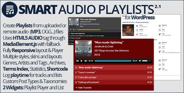 Smart Audio Playlists - CodeCanyon Item for Sale