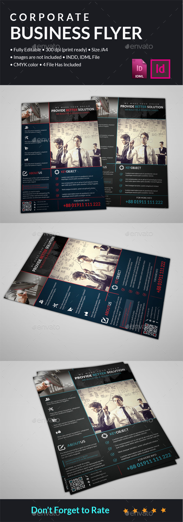 GraphicRiver Corporate Business Flyer 11885507