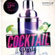 Cocktail Party Flyer Template 3 - GraphicRiver Item for Sale