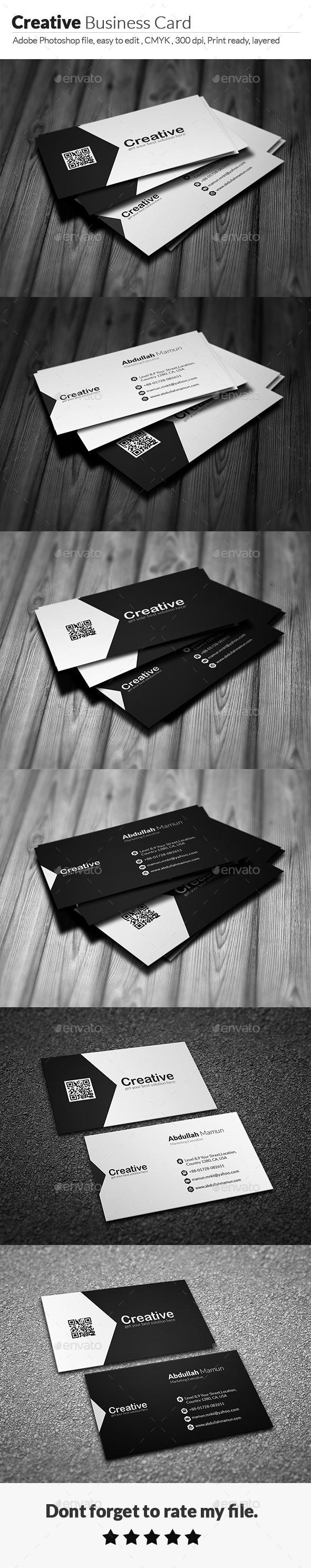 GraphicRiver Creative Business Card V10 11885671