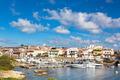 Stintino harbor, Sardinia, Italy.