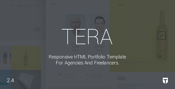 ThemeForest Tera Responsive Multi-Purpose Theme 11330517