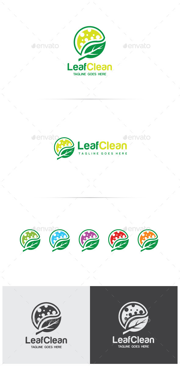 GraphicRiver Leaf Clean Logo Design 11802342
