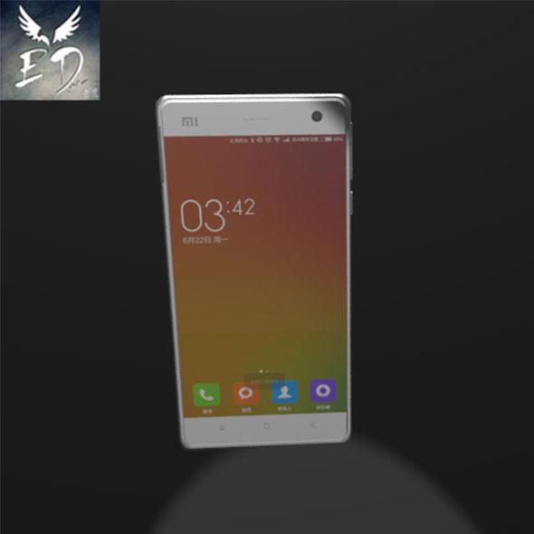 3DOcean XiaoMi 4 Phone Model 11886553