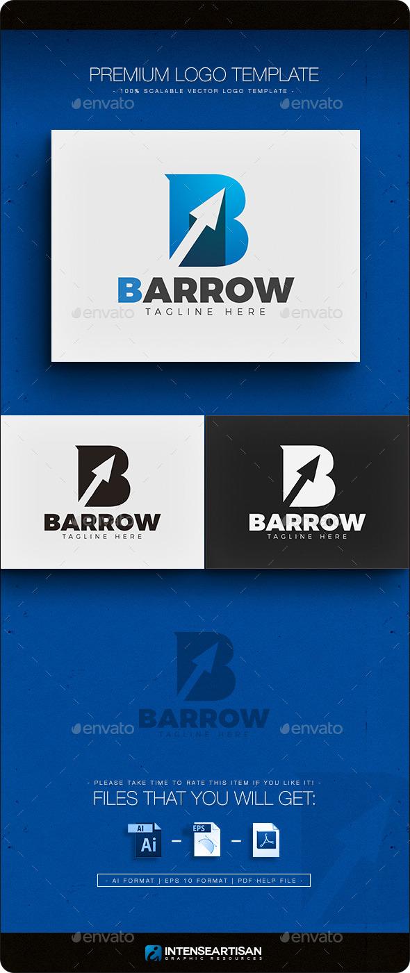 GraphicRiver Barrow Letter B Logo 11886640