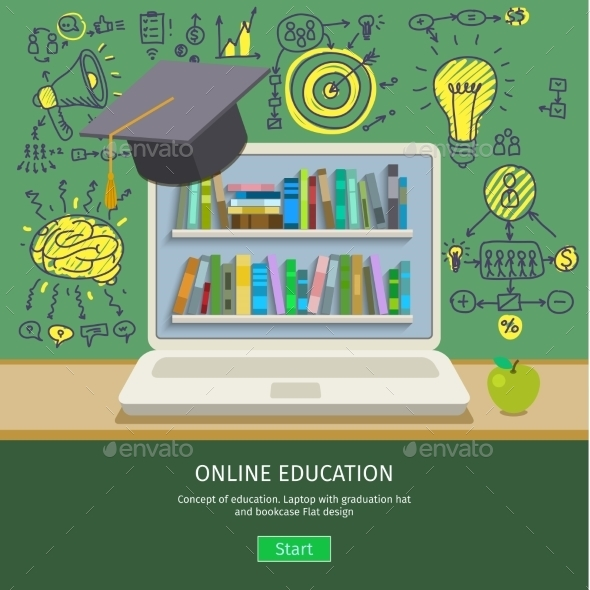 GraphicRiver Concept Of Education 11886757