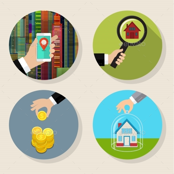 GraphicRiver Searching For a House 11886762