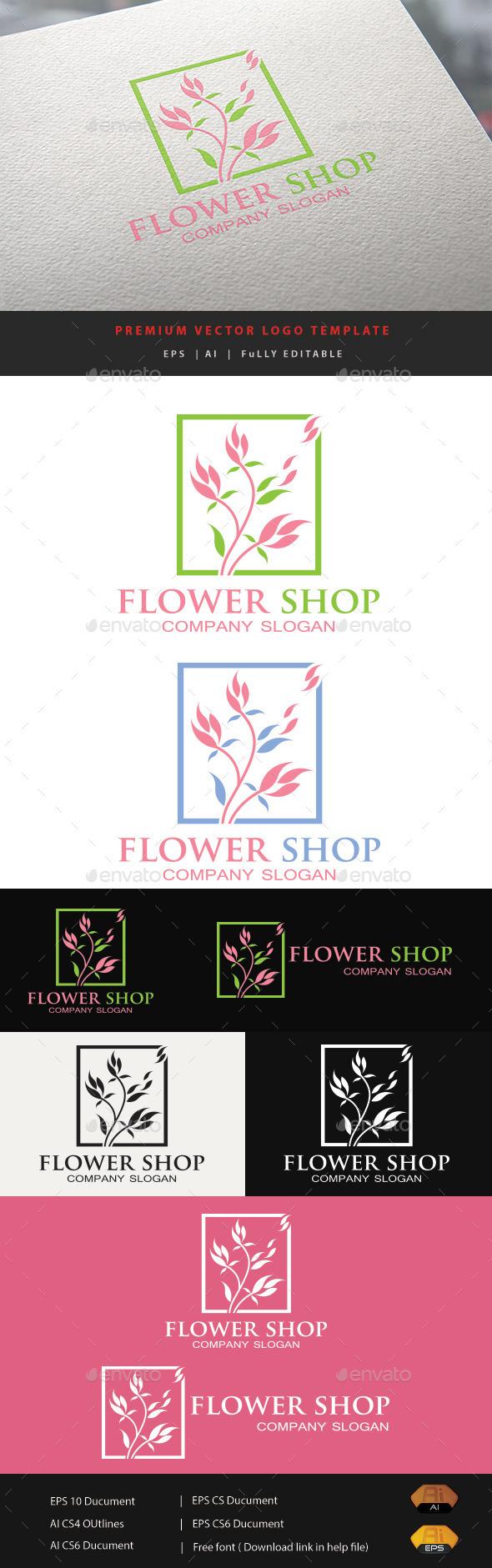 GraphicRiver Flower Shop V.3 11886778