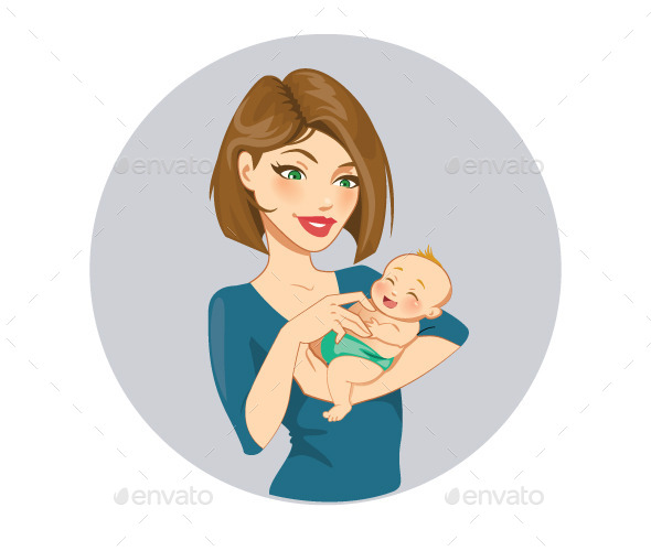 GraphicRiver Mother and Baby 11886940