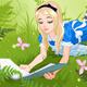 Reading Alice  - GraphicRiver Item for Sale