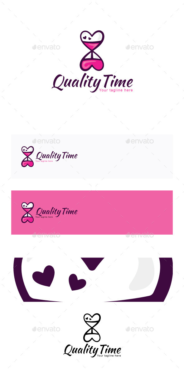 GraphicRiver Quality Time Stock Logo Template 11886952
