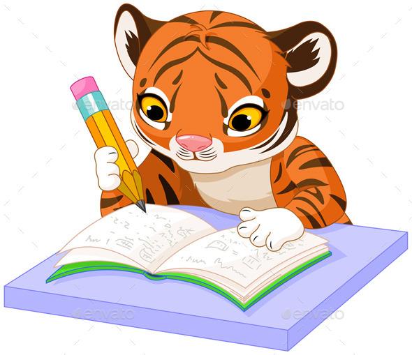 GraphicRiver Tiger Learns 11886968
