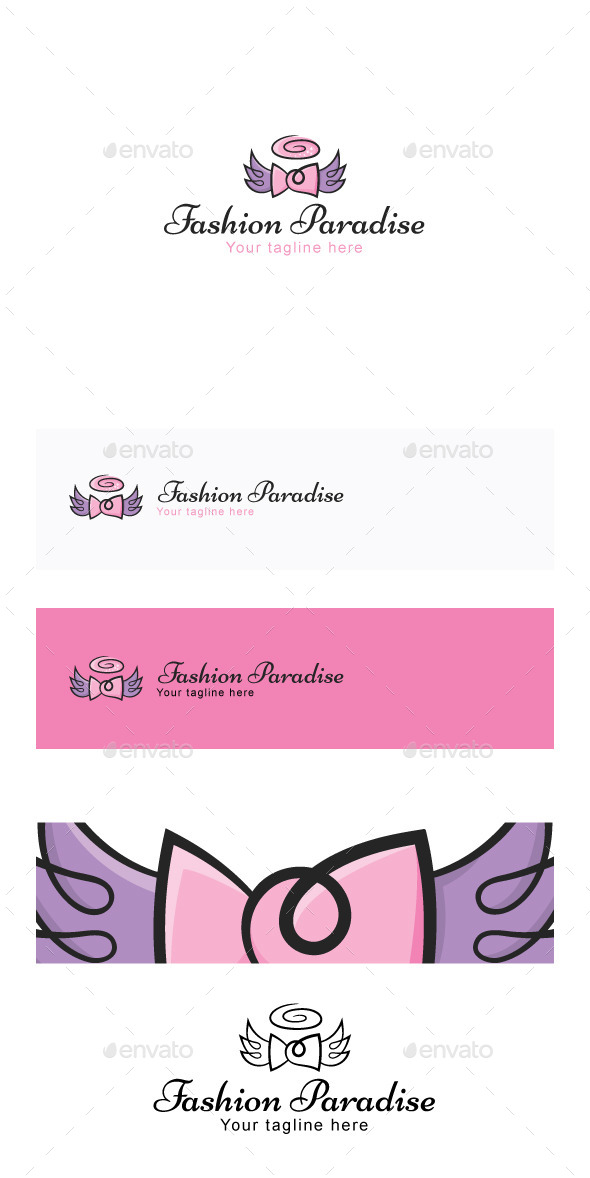 GraphicRiver Fashion Paradise Stock Logo Template 11887233