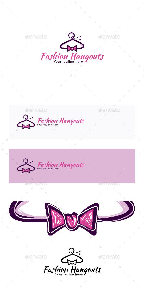 GraphicRiver Fashion Hangouts Stock Logo Template 11887237